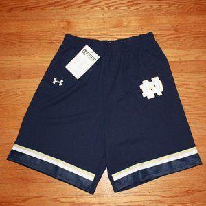 Under Armour Notre Dame Stitched Lacrosse Shorts